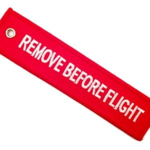 Streamer Remove Before Flight